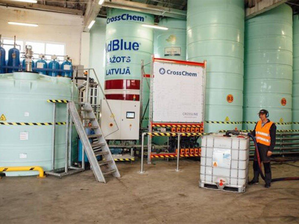 Darbinieks iepilda AdBlue tvertnē